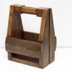Skrzynka drewniana, postarzana na 6 piw. Wykonana z okazji dnia ojca.