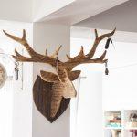 drewniany jeleń wooden deer
