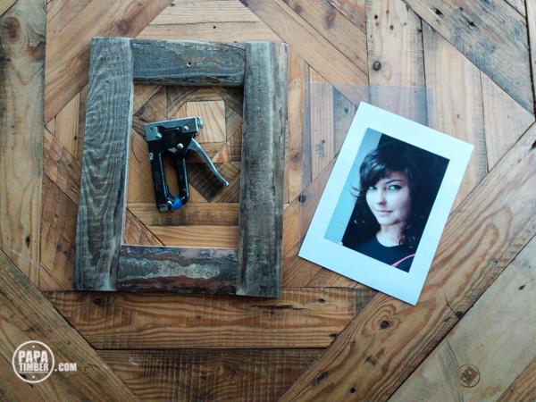 Drewniana ramka DIY